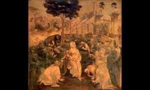 Leonardo da Vinci's The Adoration of the Magi (1481–1482)