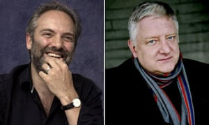 Sam Mendes and Simon Russell Beale