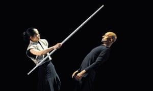 Akram Khan and Yoshie Sunahata in Gnosis 2010
