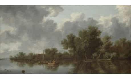 Salomon van Ruysdael – River Scene, 1632
