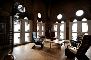 St Pancras: Peter Tompkins's penthouse in St Pancras Chambers