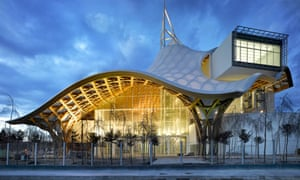 Exterior of the Pompidou Metz