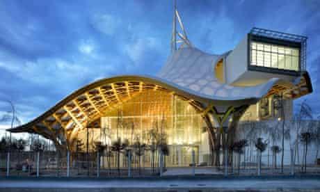 Exterior of the Pompidou Metz