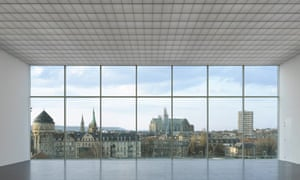 View from inside the Pompidou-Metz