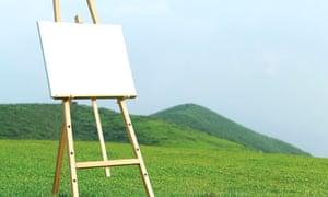 Empty canvas