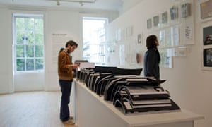 Rem Koolhaas / OMA Book Machine show at the AA School, London.