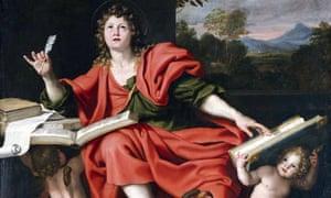Domenichino's Saint John the Evangelist.