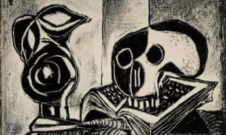 Pablo Picasso, Black Jug and Skull (1946)