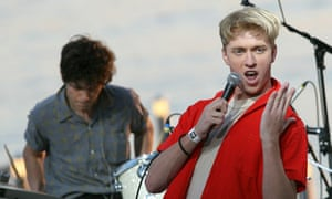 Singer of US band The Drums, Jonathan Pi