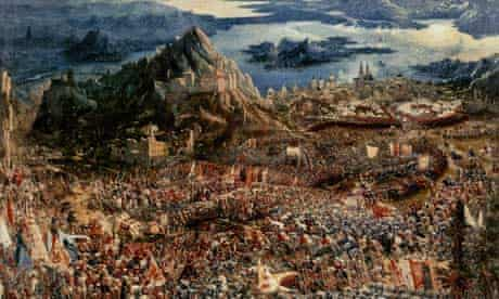 The Battle of Issus by Albrecht Altdorfer