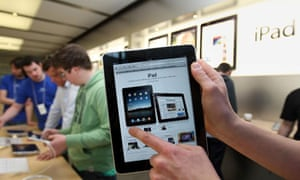 iPad on sale in UK