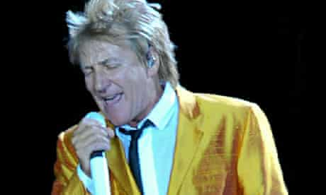 Rod Stewart Performs At O2 Arena In London