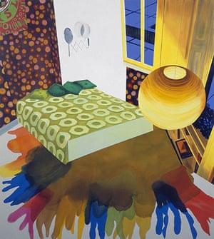Turner prize 2010: Hendrix's Last Basement by Dexter Dalwood, Turner prize shortlist 2010