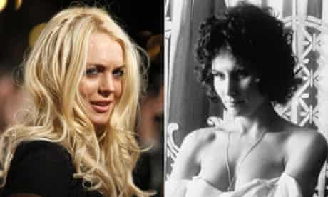 Lindsay Lohan and Linda Lovelace