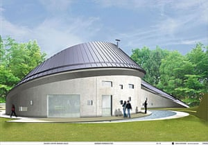 Maggie's Centres: Maggie's Centre south-west Wales, design by Kisho Kurokawa/Garbes and James