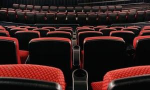 Empty seats in an empty theatre