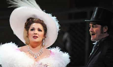 Anna Netrebko and Russell Braun in Manon by Jules Massenet at the Royal Opera House