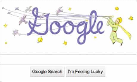 Antoine de Saint-Exupéry, French author celebrated by Google doodle, 29 June 2010