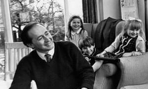 JG Ballard with his children