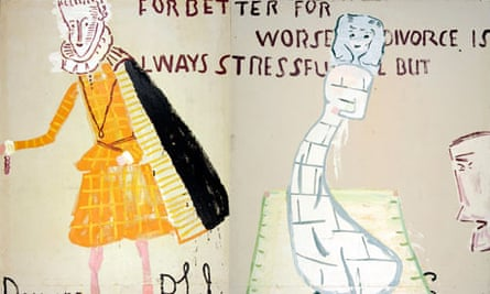 Lords and Ladies by Rose Wylie