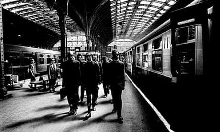 Michael X at Paddington station
