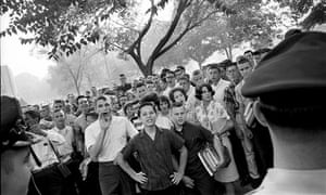 Robert Adams photos documenting civil rights movement