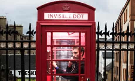 Invisible Dot's telephone box