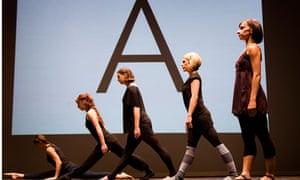 Sadler's Wells perform Martin Creed's Ballet Work No 1020