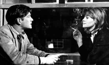 Tom Courtenay and Julie Christie in the film version of Billy Liar