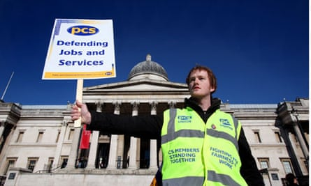 PCSU strikes outside the National Gallery