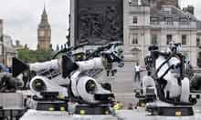 Outrace in Trafalgar Square, London, Britain - 16 Sep 2010