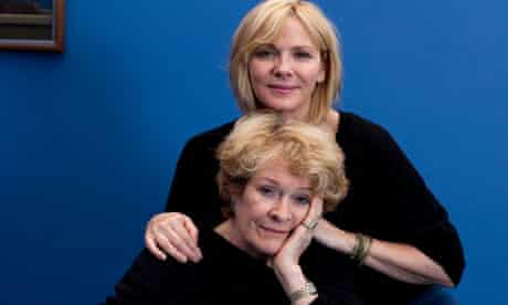 Kim Cattrall and Janet Suzman