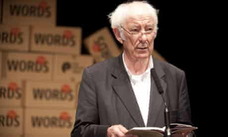 Seamus Heaney at the Poetry Prom