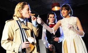 Melissa Woodbridge, Margaret-Ann Bain and Polly Eachus in A Doll's House