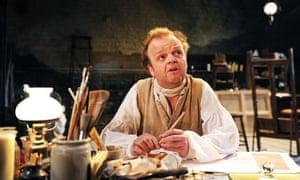 Toby Jones as Turner in The Painter