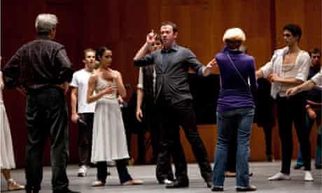 Ratmansky rehearses Seven Sonatas with American Ballet Theatre