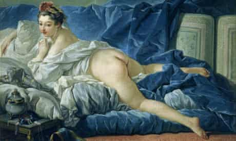 The naked and the fed ... The Odalisque (1745) is typical of François Boucher