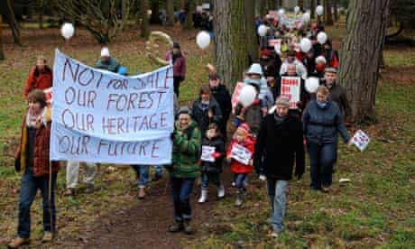 Forest of Dean protest, Gloucestershire