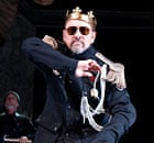 Kevin Spacey as Richard lll at the Old Vic