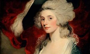 Caught in the act … Mary Robinson as Perdita (1782) by John Hoppner.