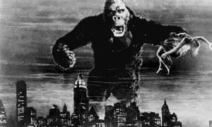 On Broadway … King Kong terrorises New York in the 1933 film.