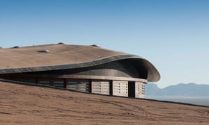 Richard Branson's Norman Foster-designed spaceport in the New Mexico desert