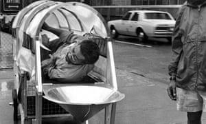 Krzysztof Wodiczko's Homeless Vehicle Project, New York (1988-1989)