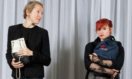 Justine Picardie and Laurie Penny