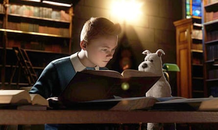 Can Steven Spielberg's The Adventures of Tintin compete with Hergé's books?