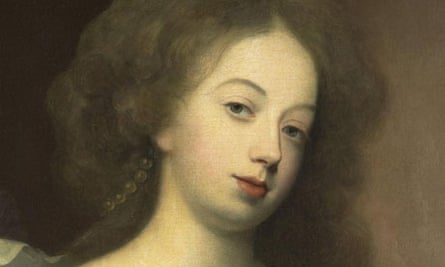 A detail from Simon Verelst's portrait of Nell Gwyn