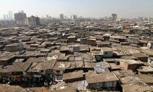 Dharavi A Slum In The Suburbs Of Mumbai