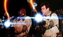 Ernie Hudson and Dan Aykroyd in Ghostbusters (1984), directed by Ivan Reitman