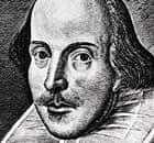 Bard likeness … the title page of the William Shakespeare's First Folio