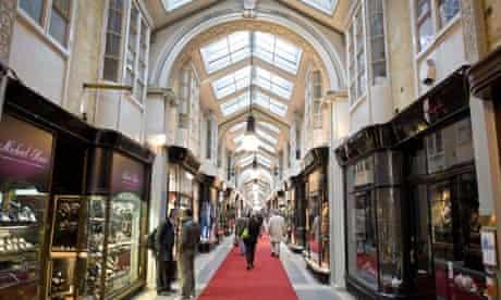 Burlington Arcade in Mayfair, London